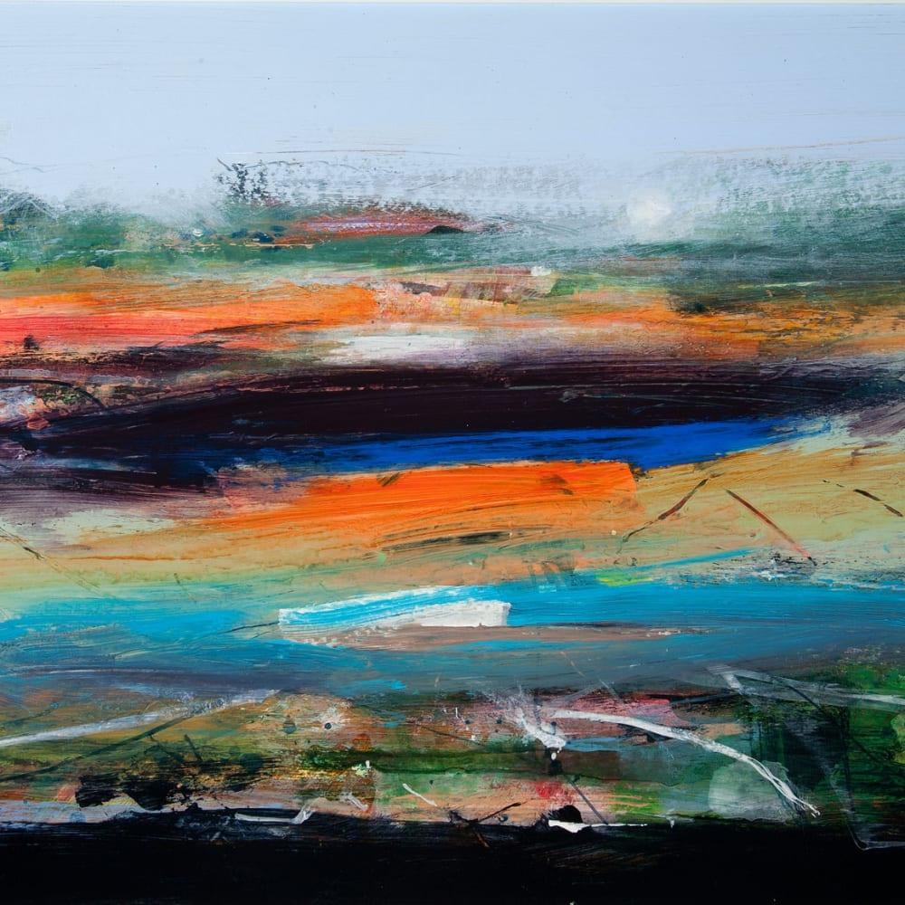 Robert McAulay  Pool viii  acrylic on gesso panel  37cm x 48cm