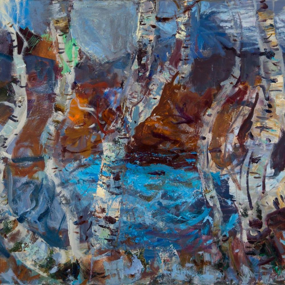 Allan MacDonald  Passing Place  oil on canvas  76cm x 102cm