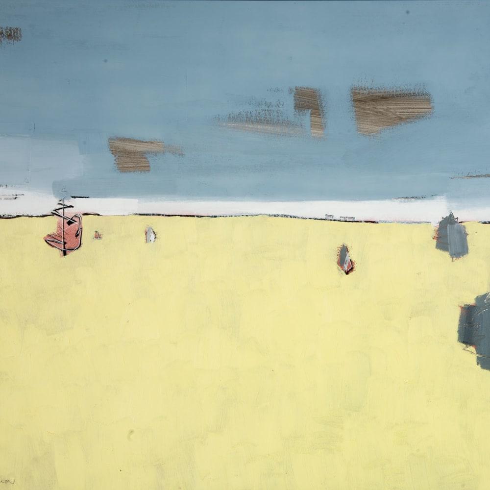 Sam Cartman  Clog Knowe  oil on board  61cm x 81cm