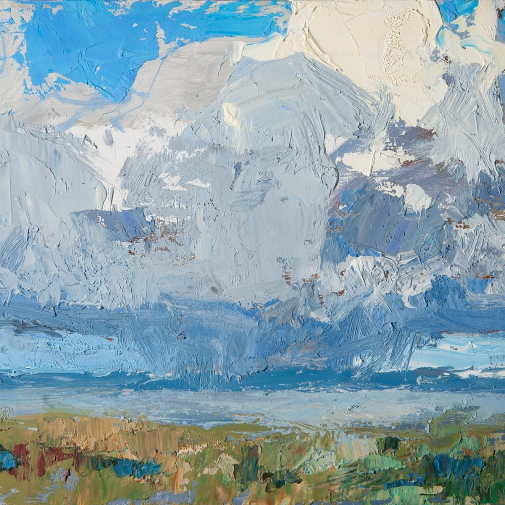 Allan MacDonald, form and void, Beauly Firth