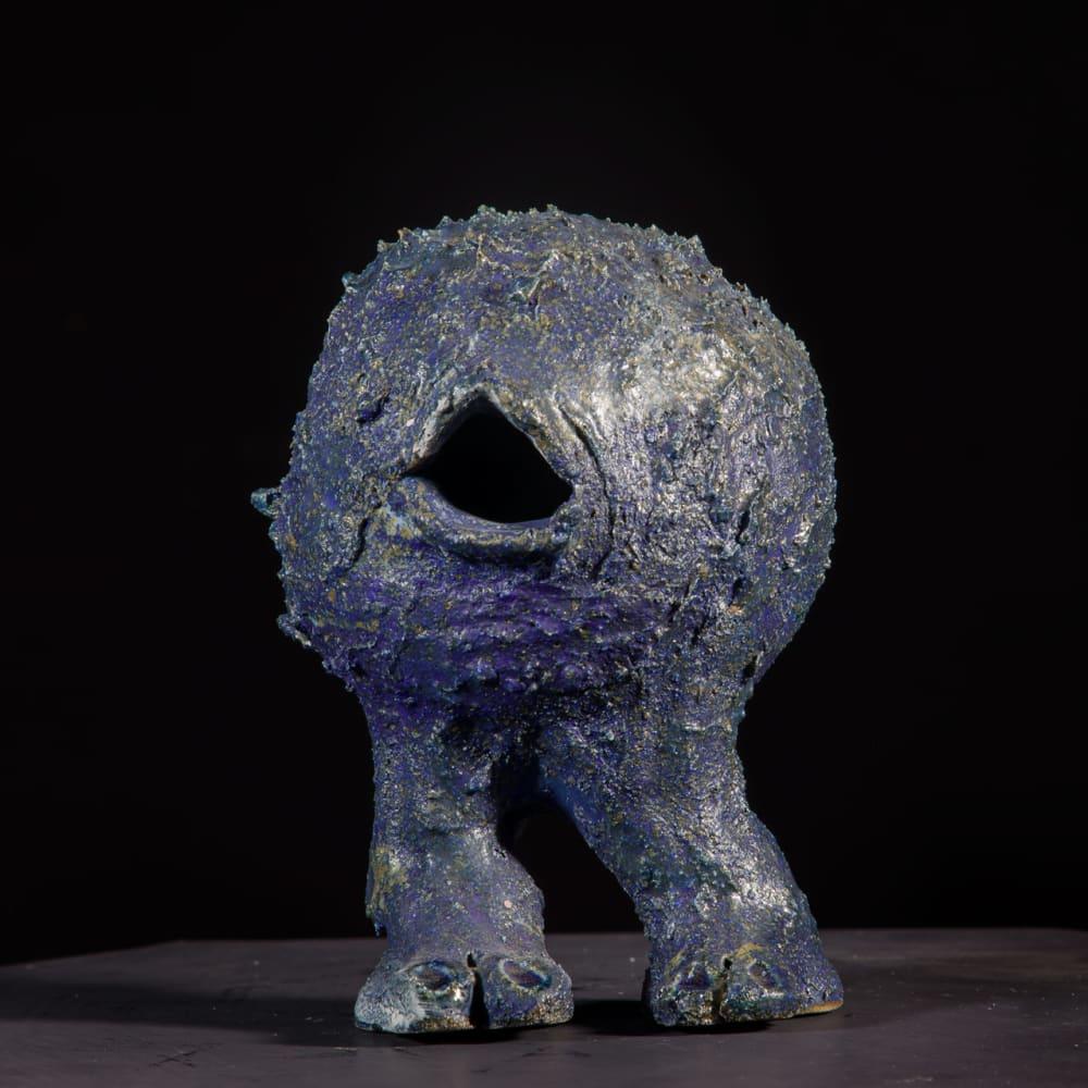 Lotte Glob  Eternal Wanderer iii, 2020  ceramic  58cm high x 28cm x 15cm