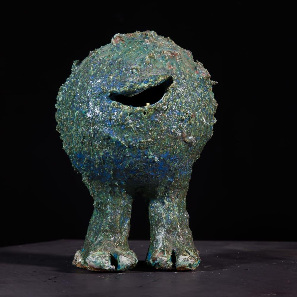 Lotte Glob  Eternal Wanderer iv, 2020  ceramic  21cm high x 13cm x 13cm