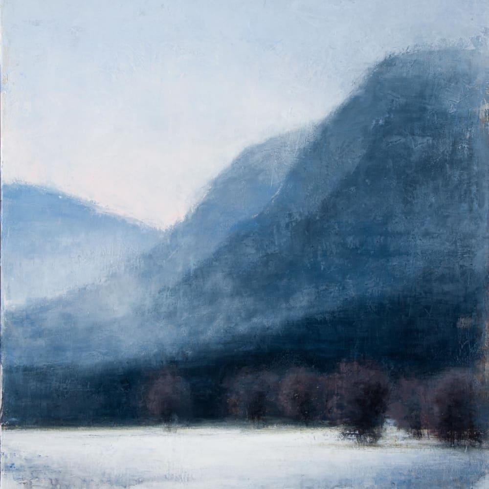 Carina Prigmore  Frozen Landscape  oil on canvas  76cm x 102cm  30 x 40 in