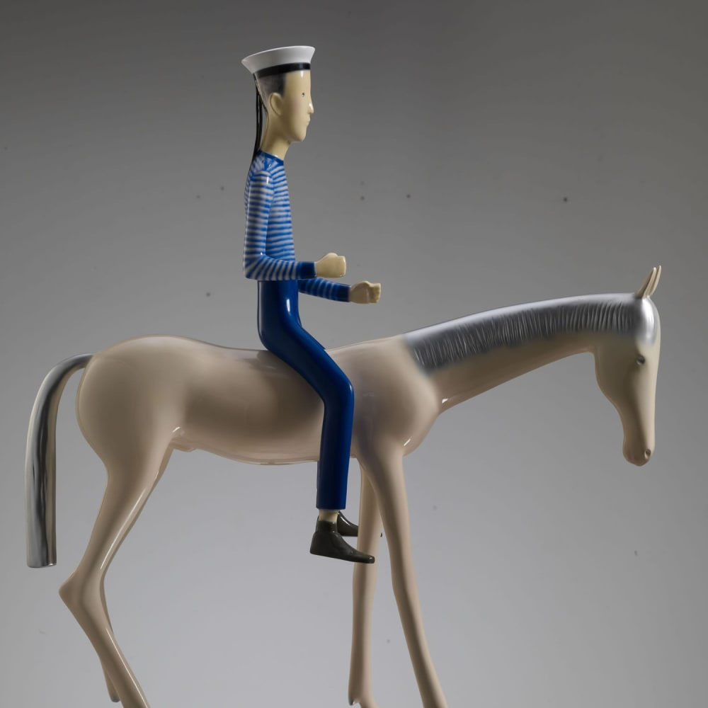 Yu Fan 于凡, White Horse and Sailor No. 3, 2010