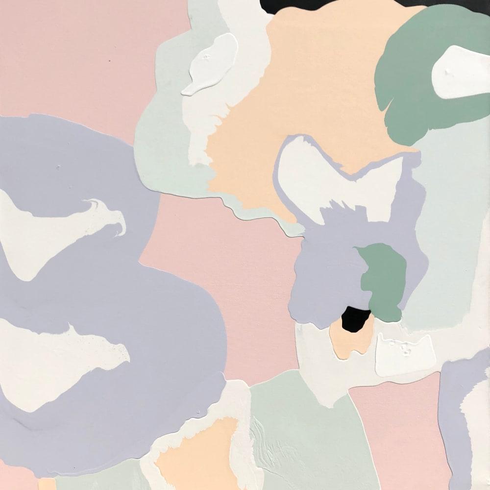Hayden Jackson  Inhabitants 2, 2018  acrylic on canvas  150 x 135cm