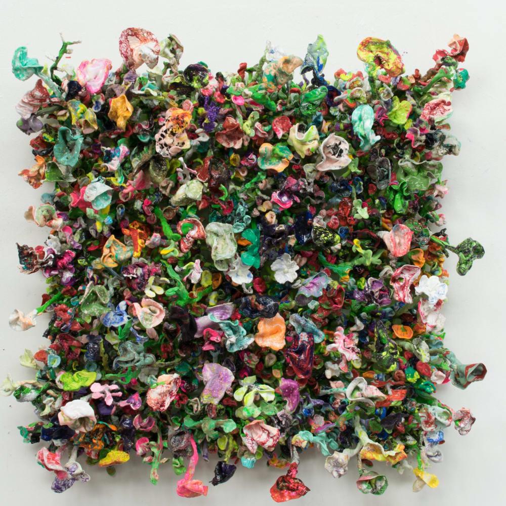 Stefan Gross, Flower Bonanza - green