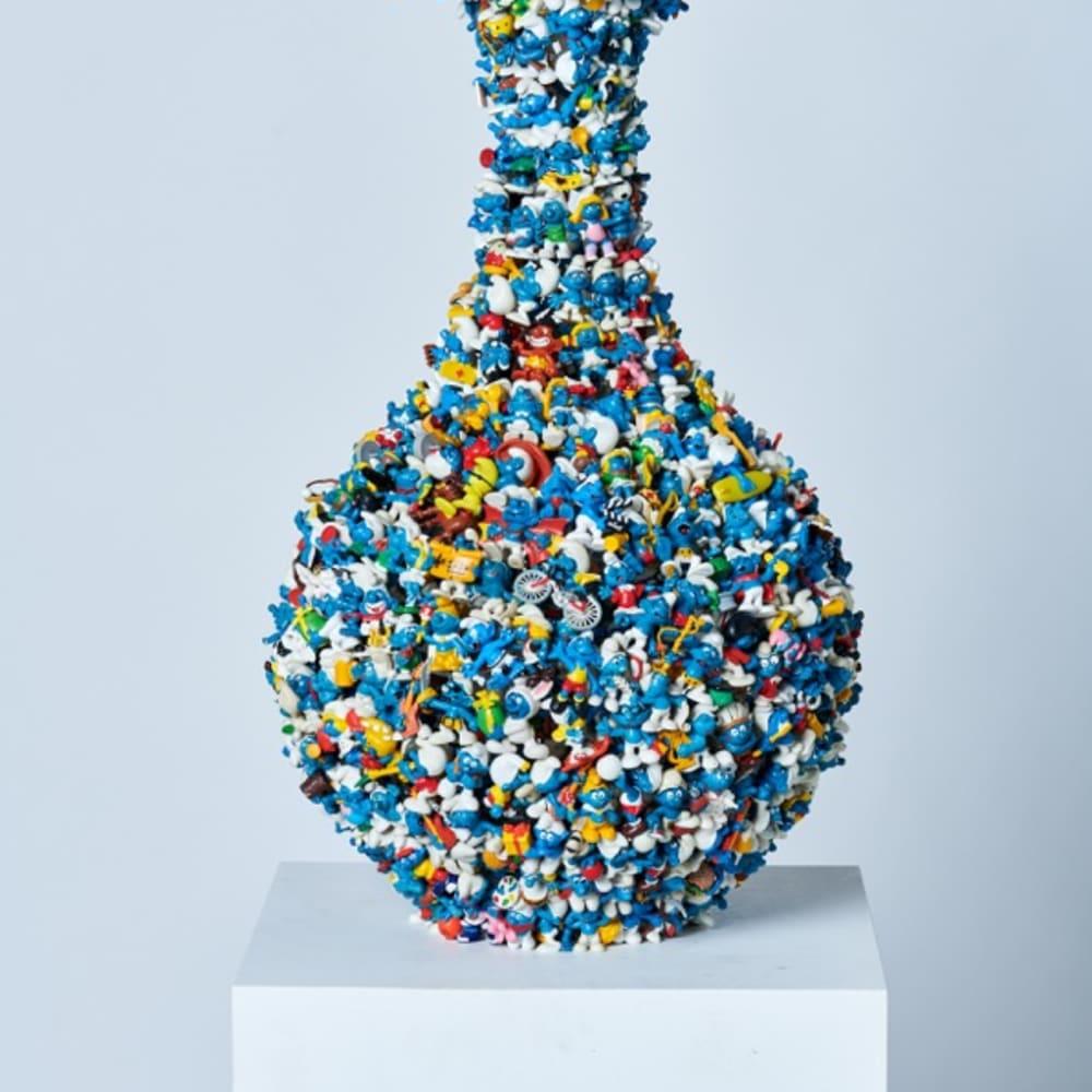 Diederik Schneemann, 2nd Smurf vase