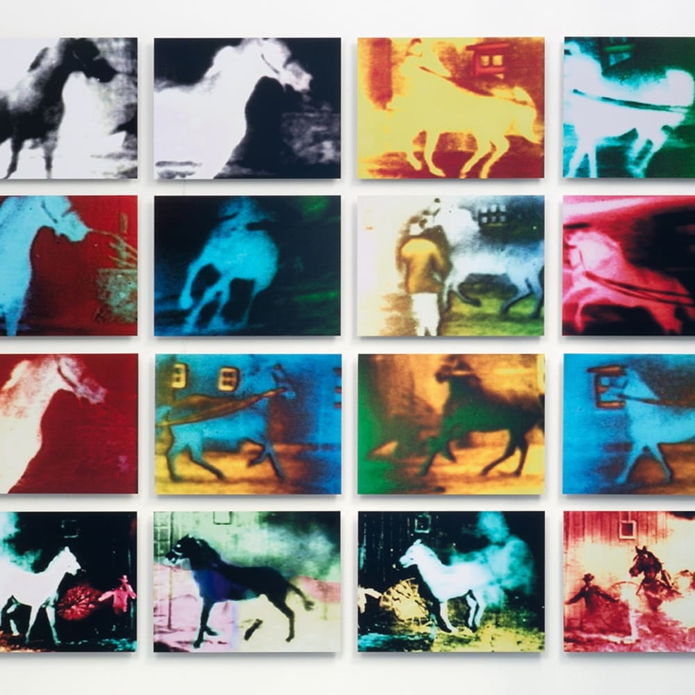Malcolm LE GRICE, Berlin Horse, 1970/2015