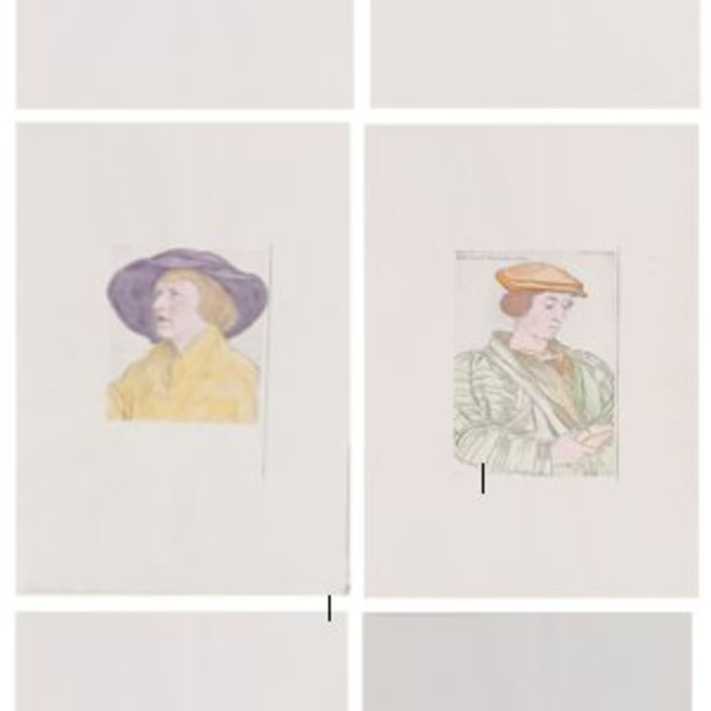 Untitled (Portraits after Holbein)