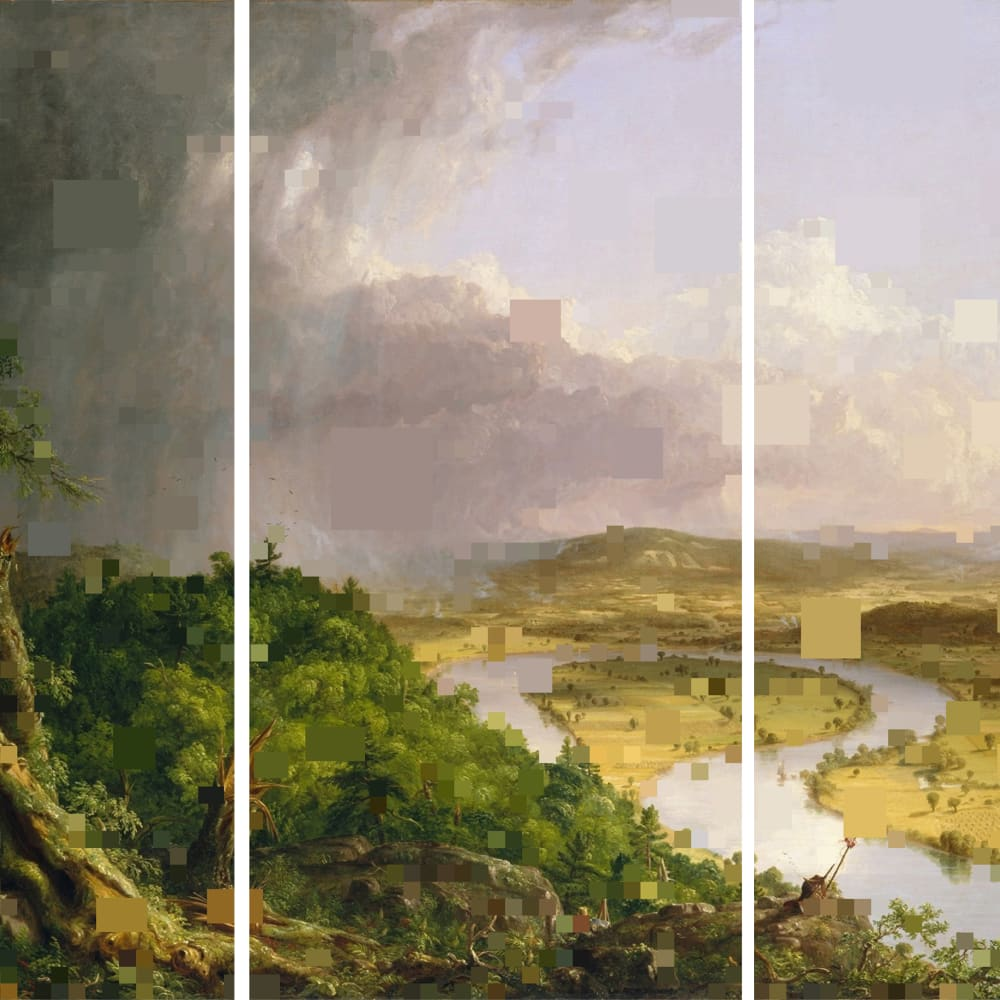 Diane Rosenblum, After Thomas Cole -- the Oxbow