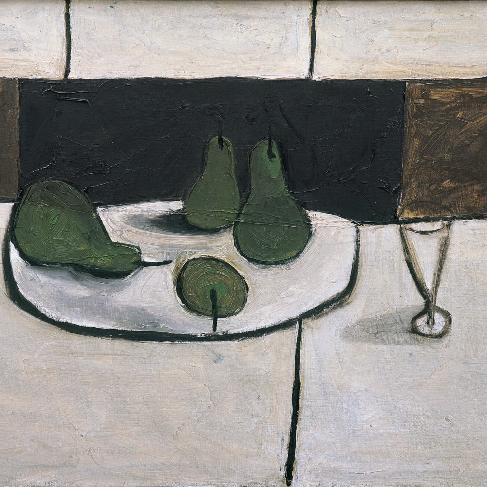 William Scott, Still life, 1955