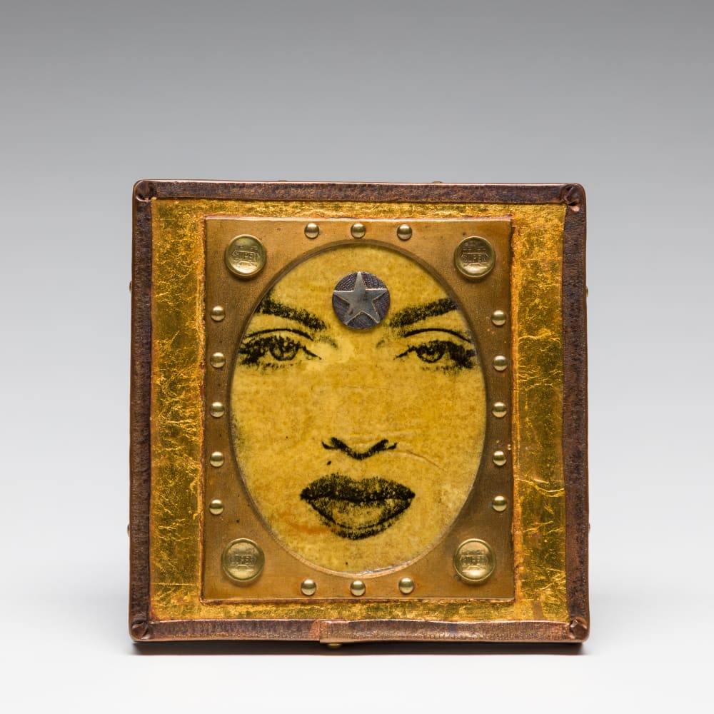 J. Fred Woell, Star Power Brooch, 2001