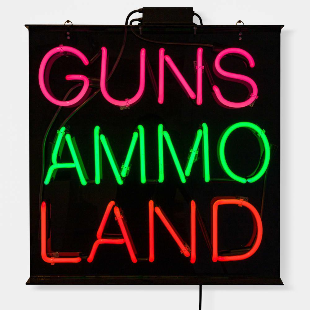 Jaque Fragua, Guns Ammo Land, 2019