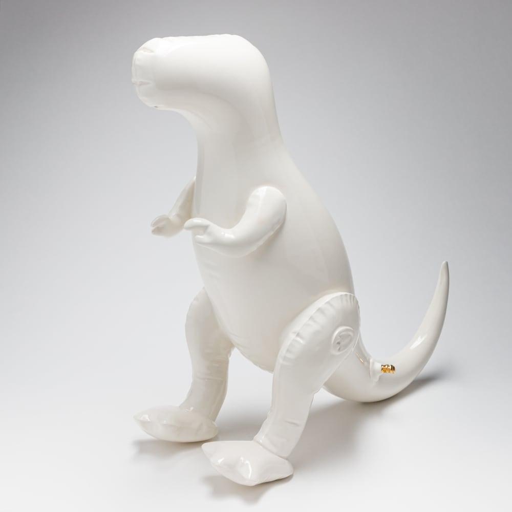 Brett Kern, Large White T-Rex, 2018