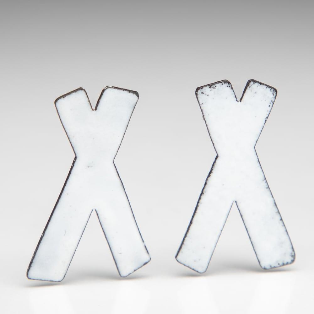 Kat Cole, Medium White X Studs , 2019