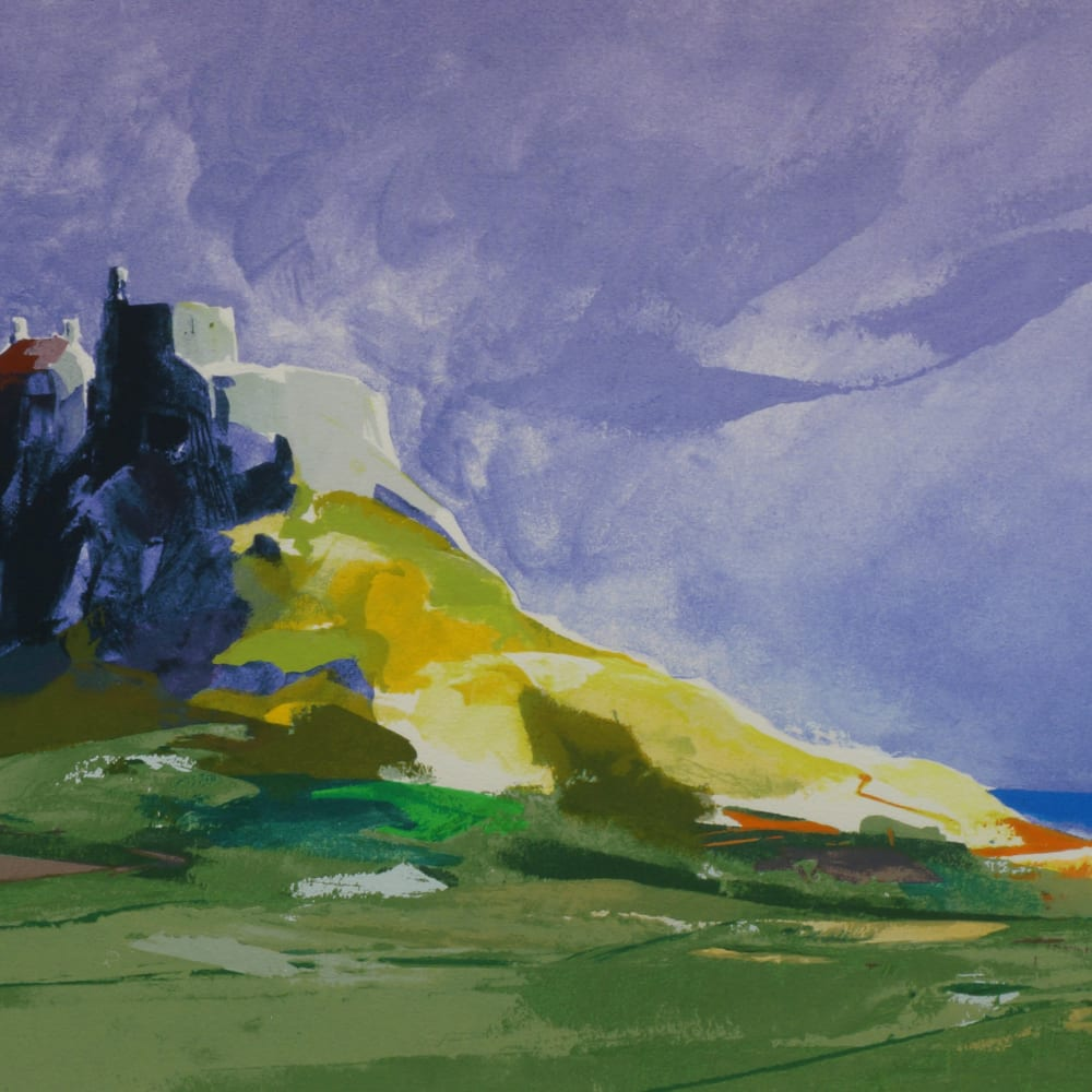 Donald Hamilton Fraser RA  Lindisfarne I, 2008  Screenprint in colours  84.5cm x 59cm
