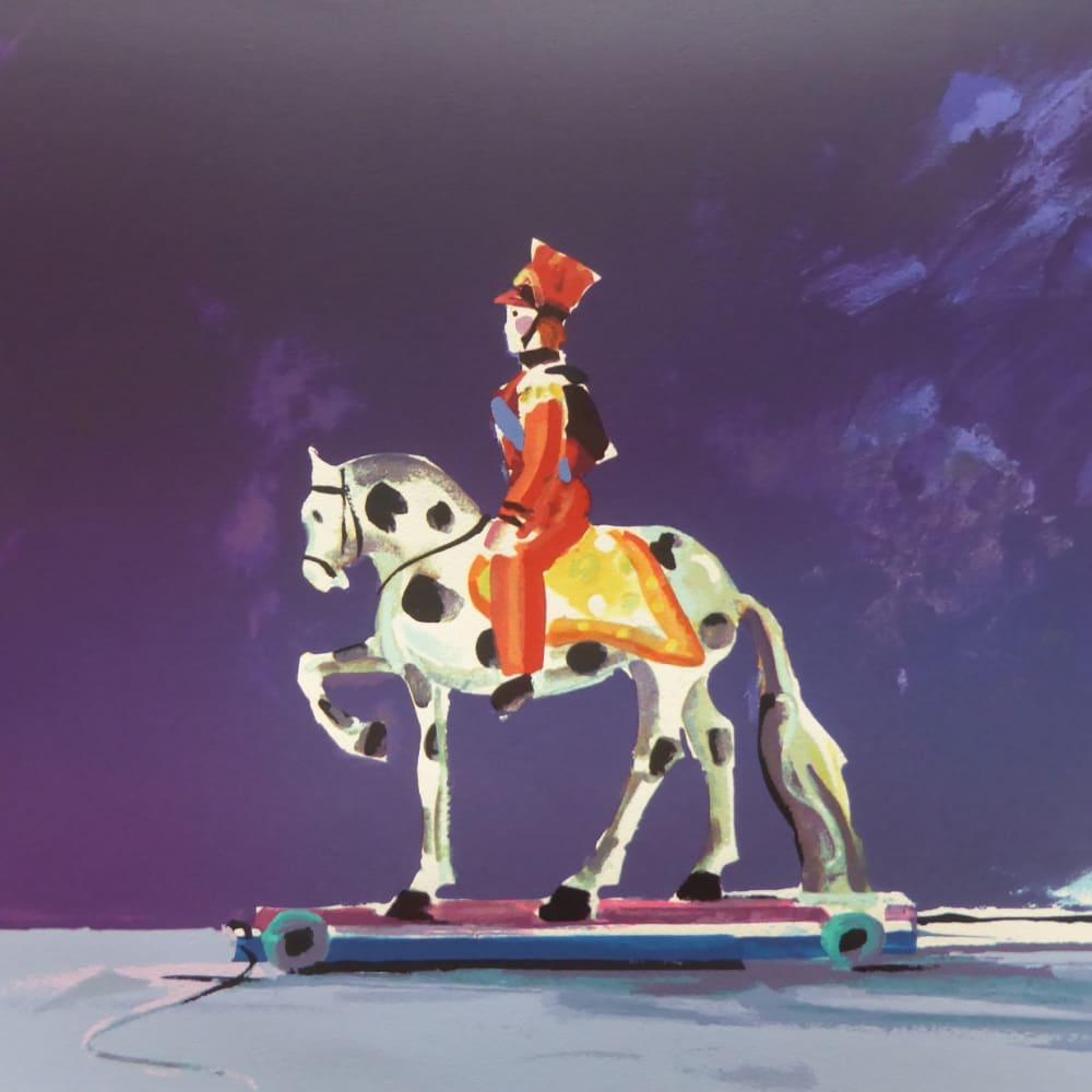 Donald Hamilton Fraser RA  Toy Hussar, 1996  Silkscreen print  56cm x 43.5cm