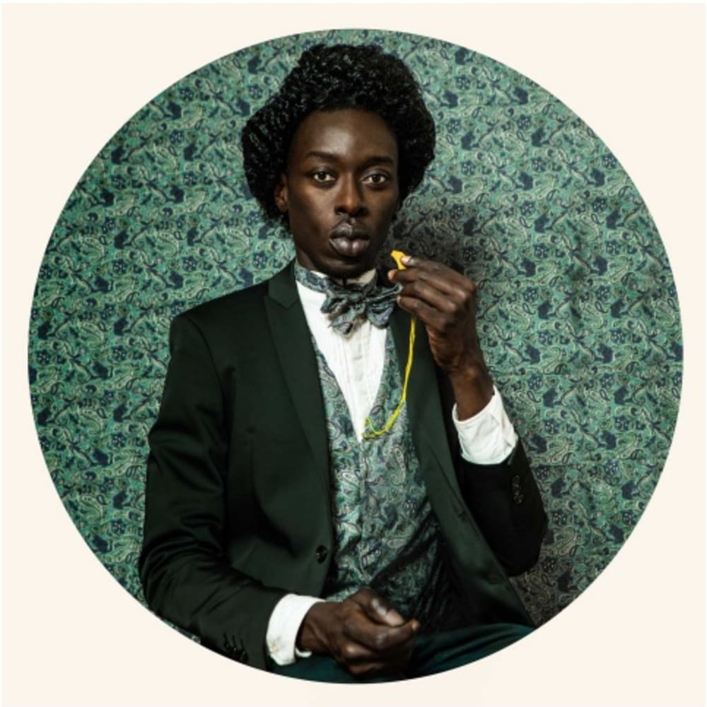Omar Victor Diop Frederick Douglass, 2014  Archival Pigment Print  23.6 x 23.6 inches