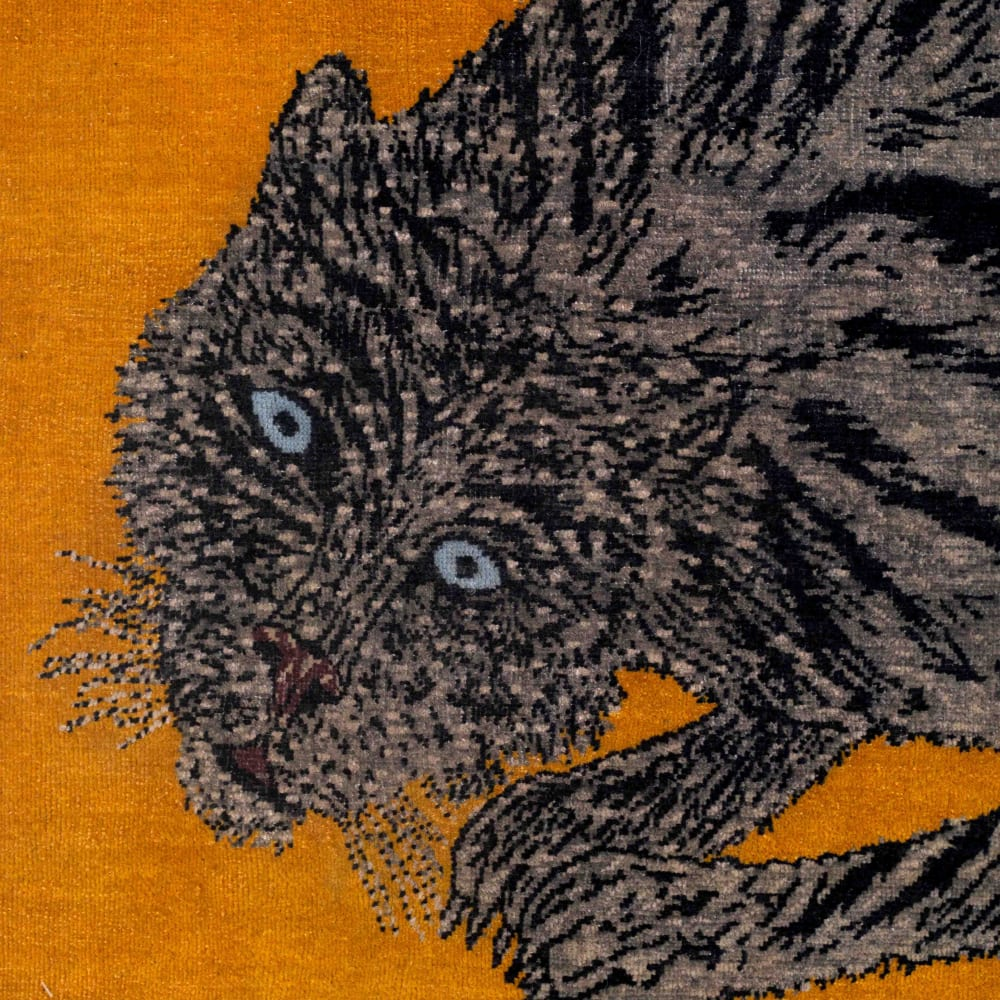 Kiki Smith, Pounce, 2019-2019. Courtesy the artist and Timothy Taylor Gallery