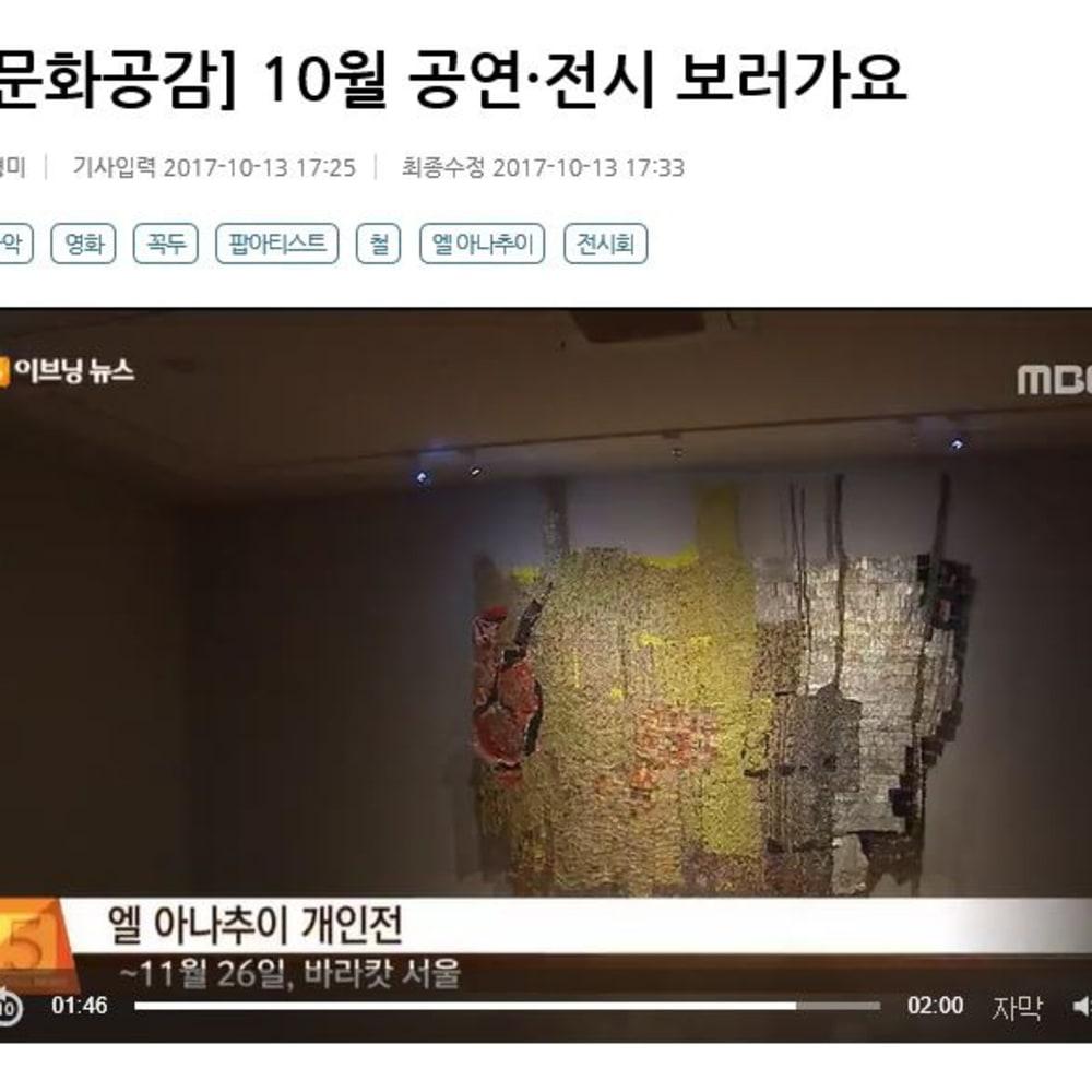 El Anatsui - MBC EVENING NEWS