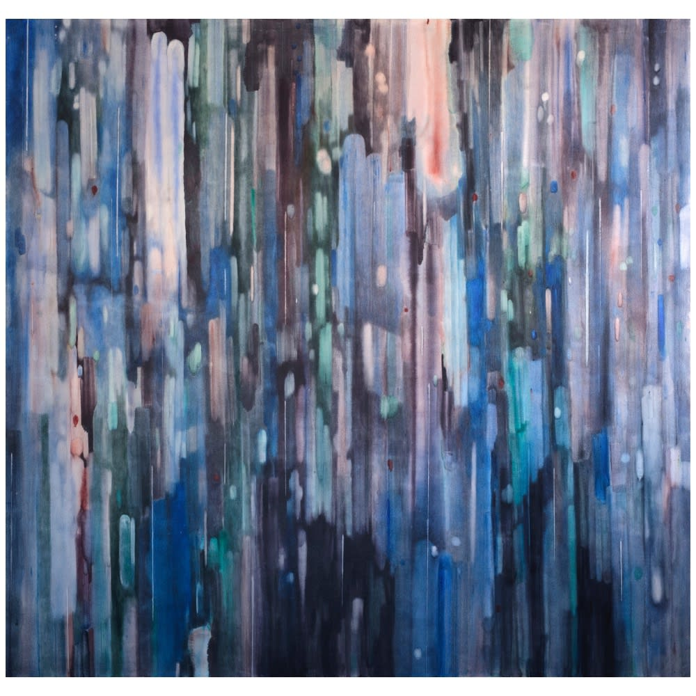 Alexia Vogel, Facet, 2019, oil on canvas, 240 x 250 cm