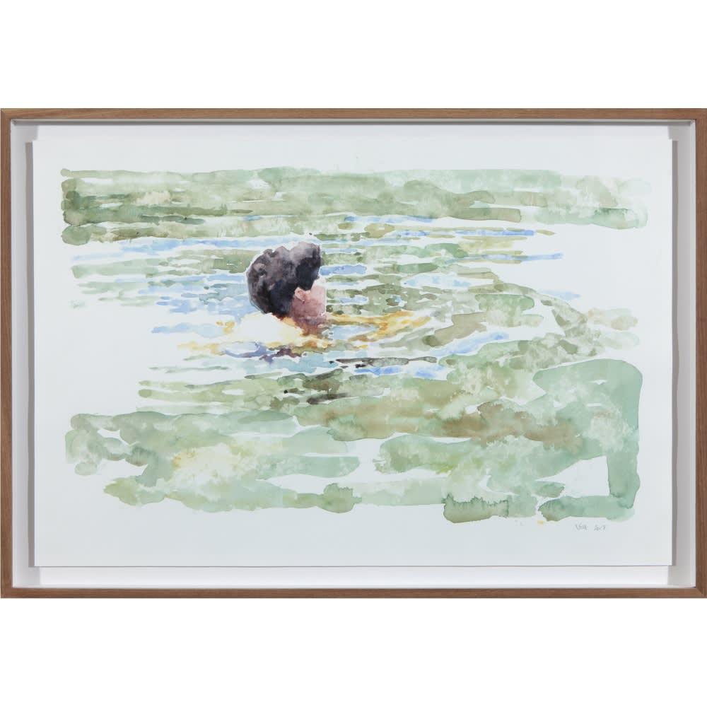 Virginia Mackenny, Dancing with Doubt, 2016-2017, oil on acrylic on canvas, 160 x 200 cm