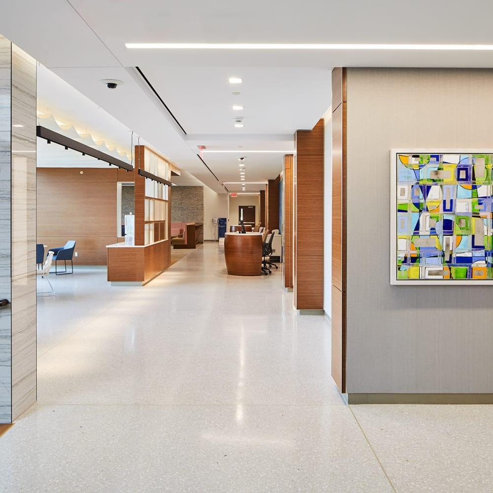 MSKCC Nassau Installation View, Petra Ros Nickel