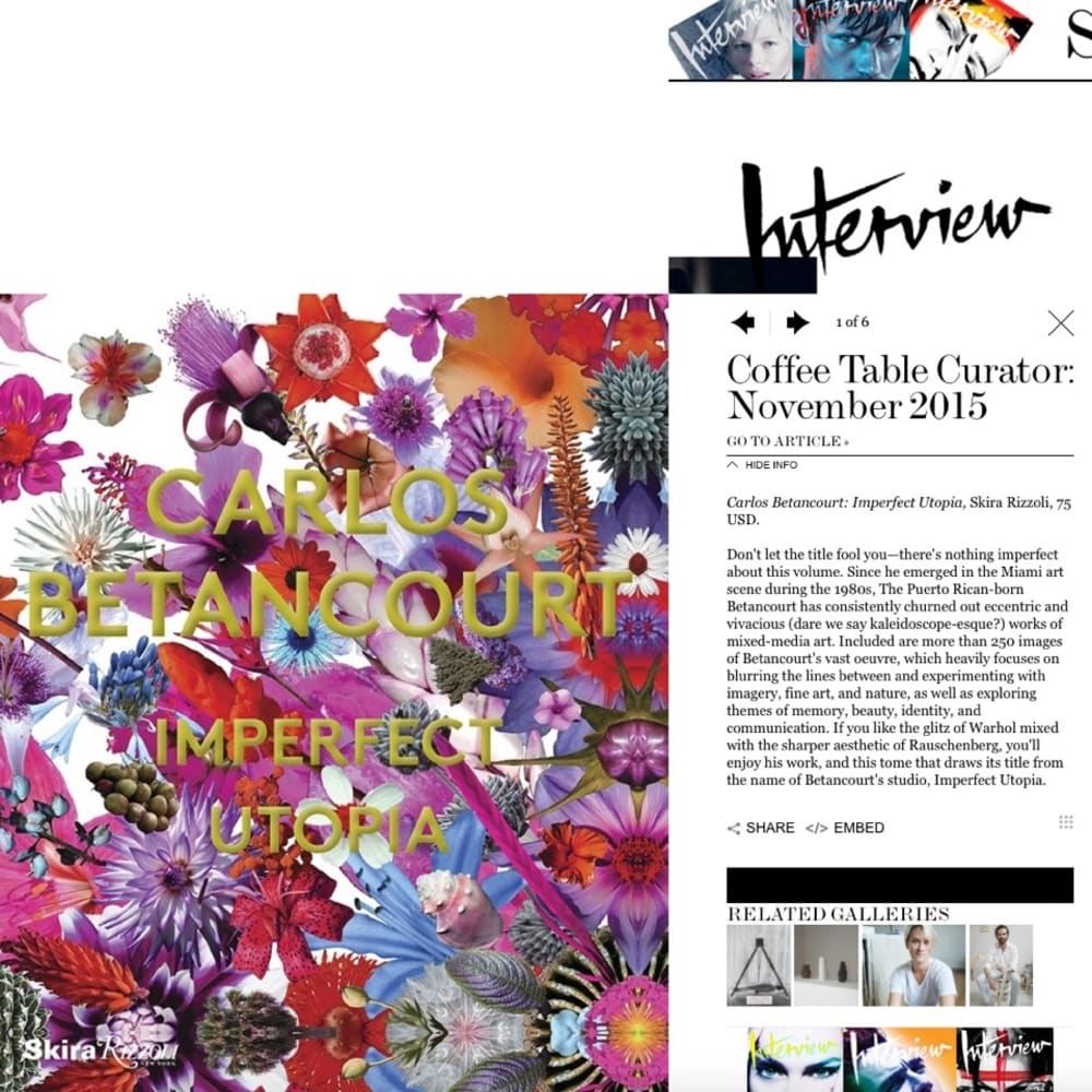 Coffee Table Curator