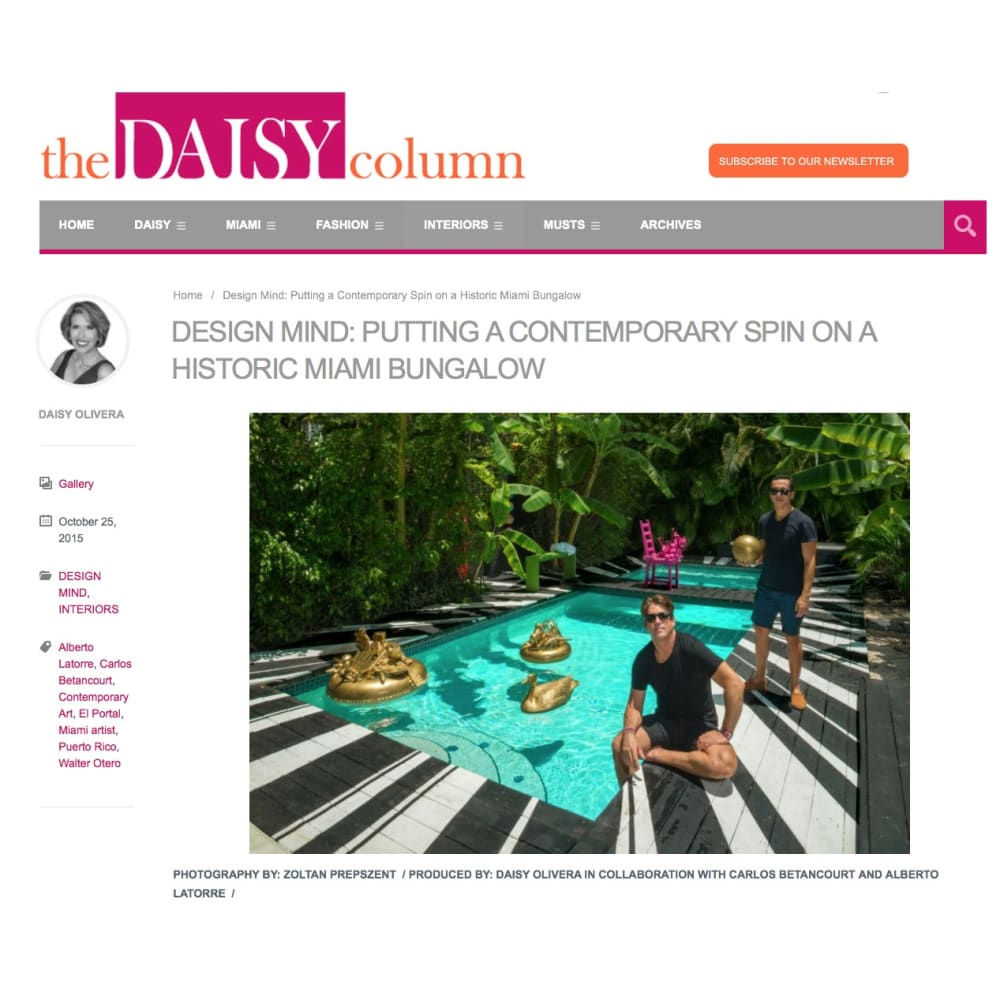 Media DAISY COLUMN essay and Photos on HOUSE