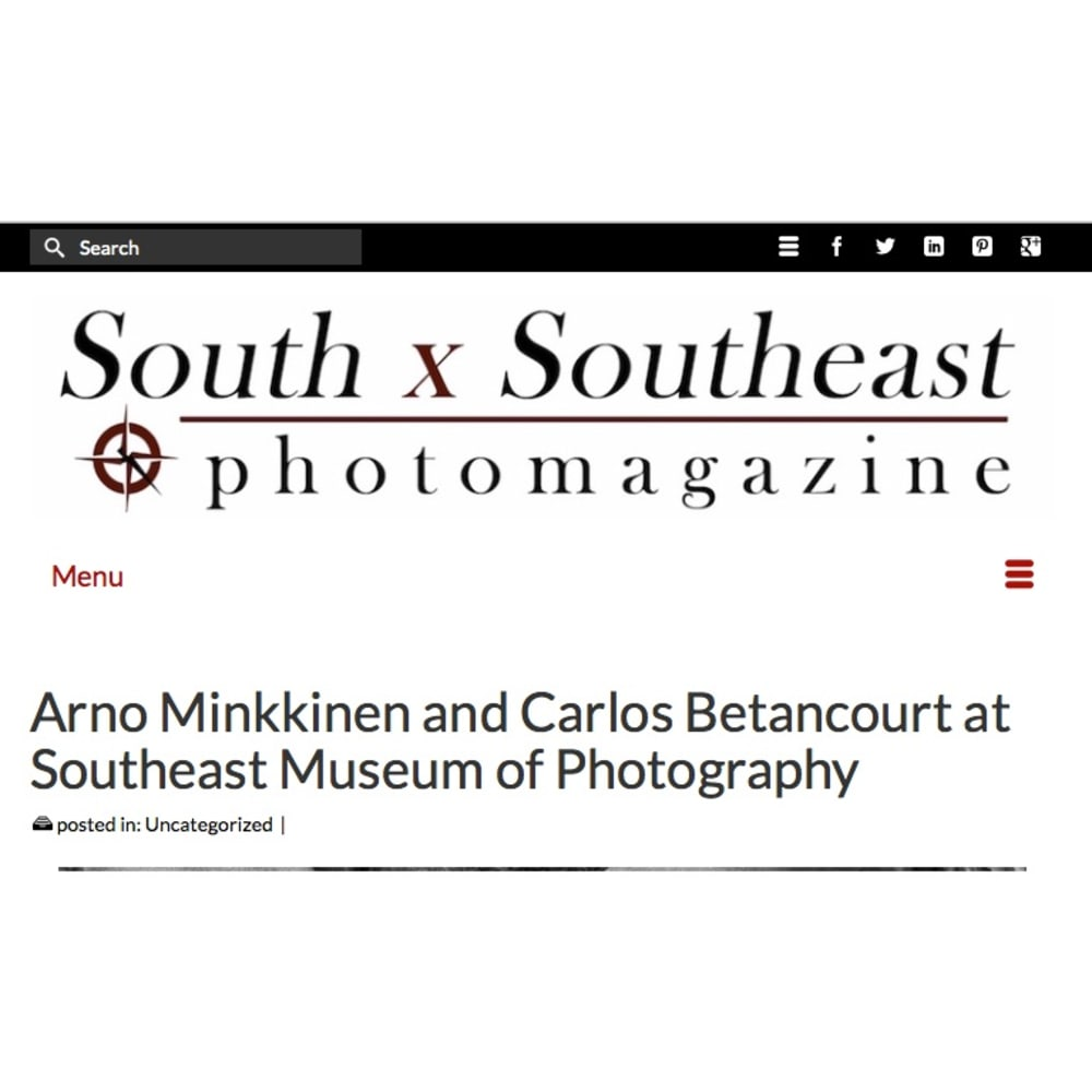 SOUTH X SOUTHEAST PHOTO MAGAZINE exhibit review