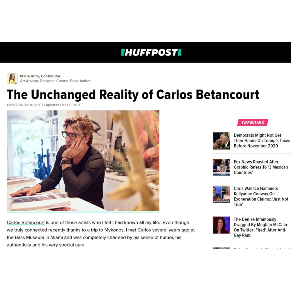 The Unchanged Reality of Carlos Betancourt