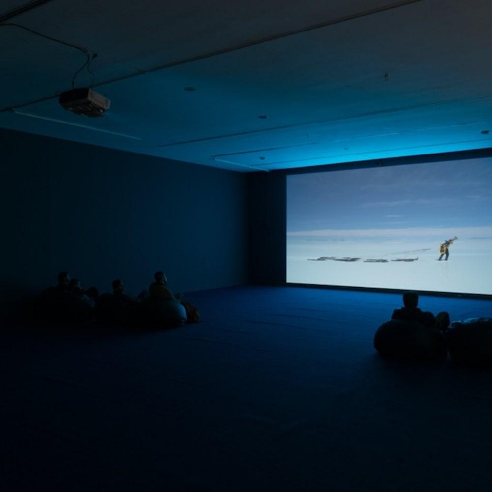 """Enrique Ramírez Exhibition: """"Un hombre que camina""""   Museo de Artes Visuales (MAVI), Santiago, Chile 7 July 2018 – 26..."""