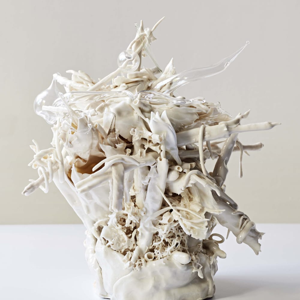 "<div class=""artist""><strong>Lucille Lewin</strong></div><div class=""title""><em>Capricious Narrative</em>, 2018</div><div class=""medium"">Porcelain</div><div class=""dimensions"">39 x 26 x 31 cm</div>"