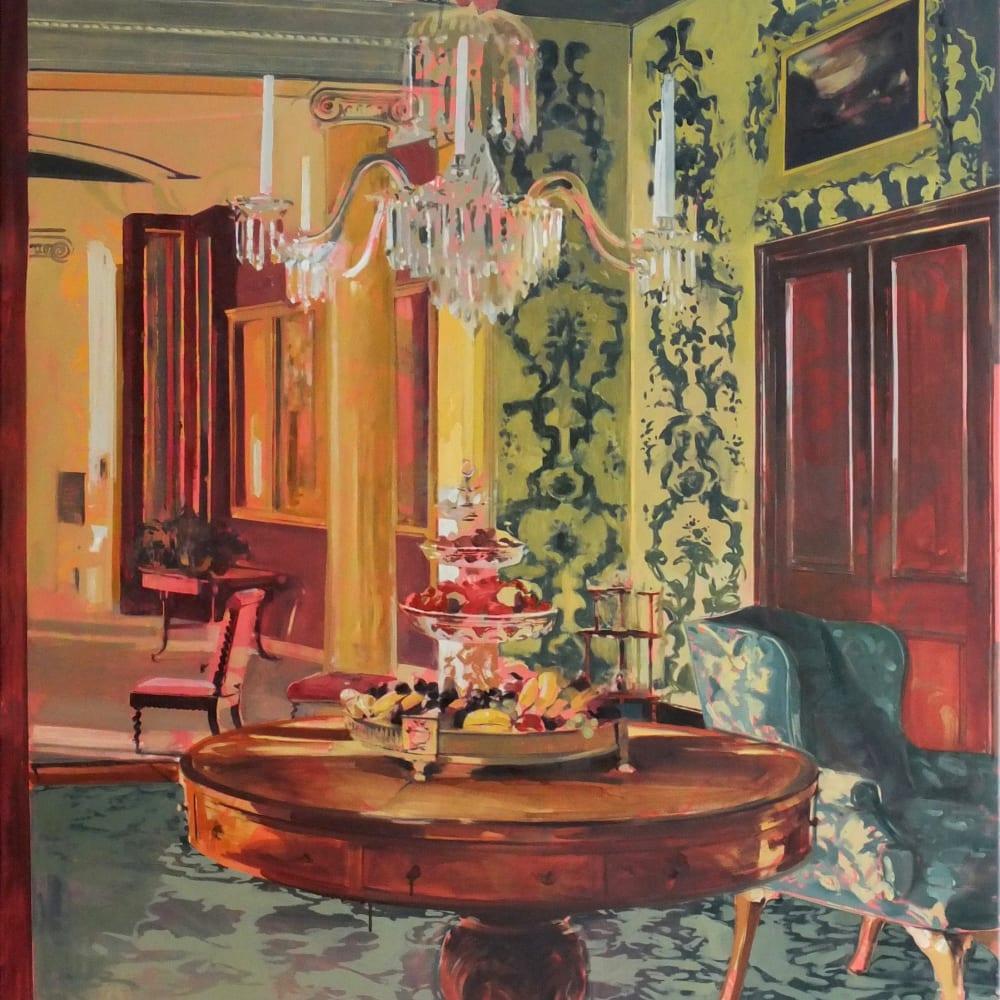 Eleanor Watson  Still, 2018  Oil on Canvas  130 x 110 cm