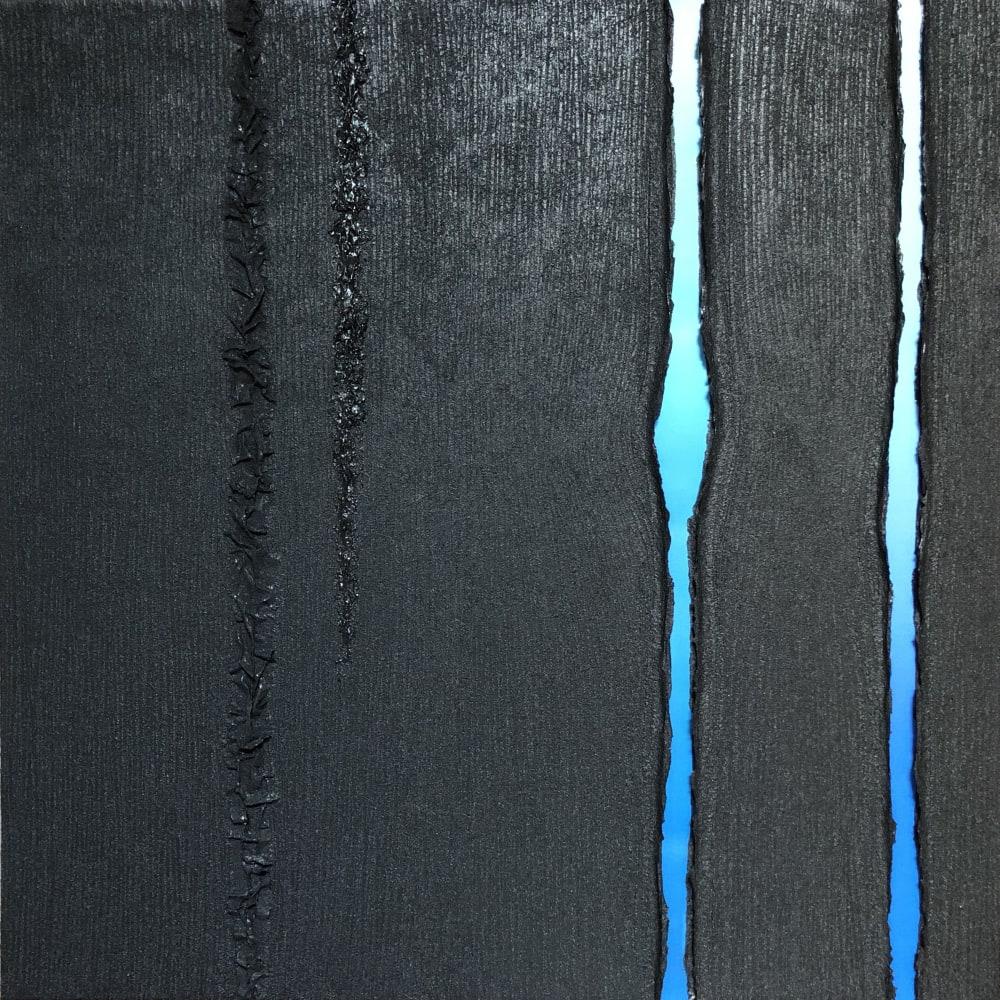 Ecorce bleue, 2019  100x100cm