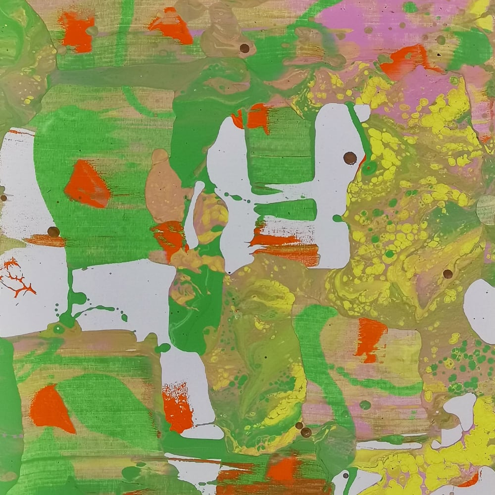 Li Lei 李磊 立春2020之6 Acrylic on canvas 布上丙烯 50 x 40 cm, 2020