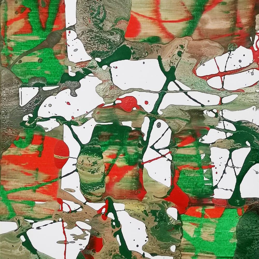 Li Lei 李磊 立春2020之8 Acrylic on canvas 布上丙烯 50 x 40 cm, 2020
