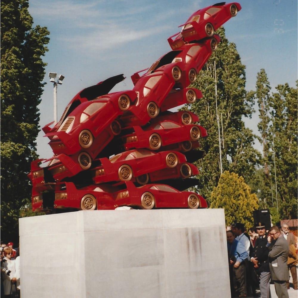 © Maggiore g.a.m. | Rampante by Arman, 1999