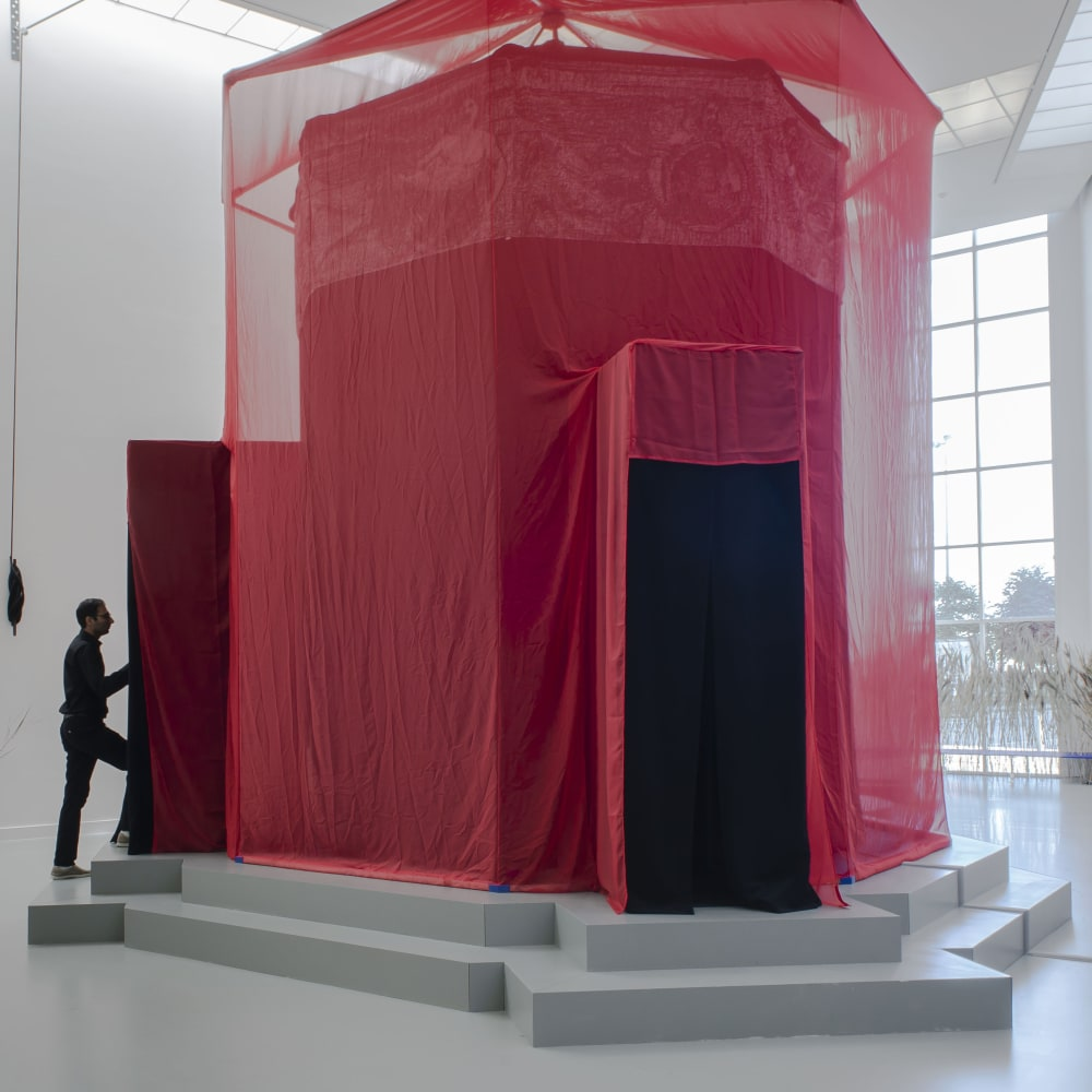 Installation view of the show The Wind Egg at M HKA Antwerp, 2018.