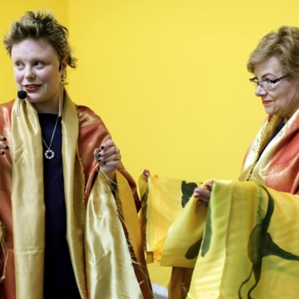 Manifesta presents a performance by Andrea Éva Győri