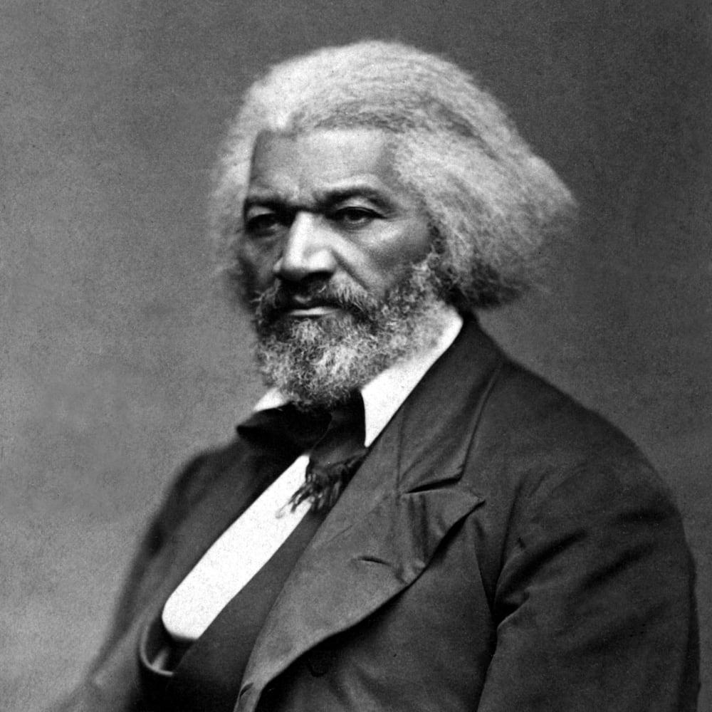 Photograph of Frederick Douglass (circa 1879) by George K. Warren