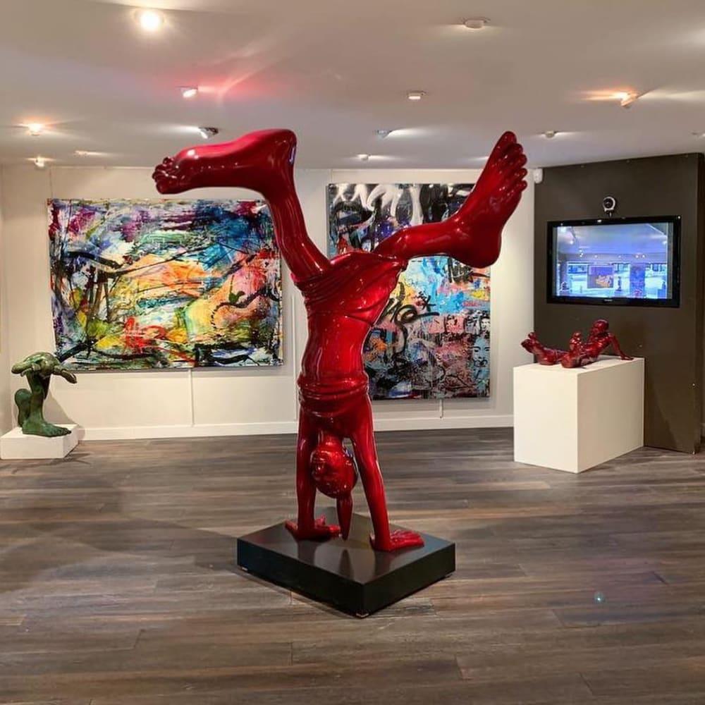 Idan Zareski at Bel-Air Fine Art Crans-Montana, Switzerland.