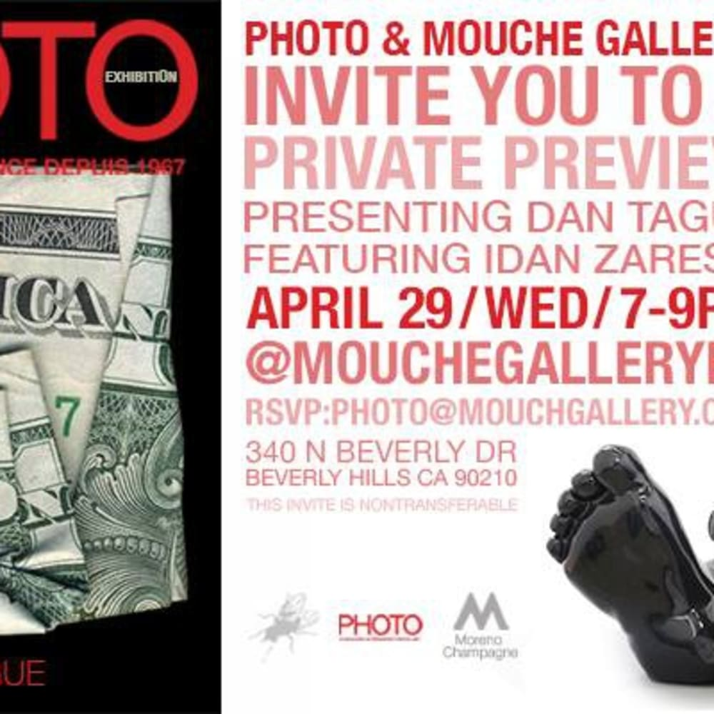 Photo Magazine Feature / Mouche Gallery Exhibit in Beverly Hills