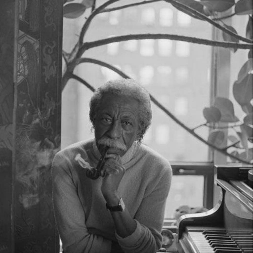 Ming Smith, Gordon Parks, New York City, NY, 1991