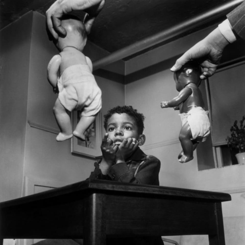 Gordon Parks, Doll Test, Harlem, New York, 1947 Courtesy of The Gordon Parks Foundation ©The Gordon Parks Foundation