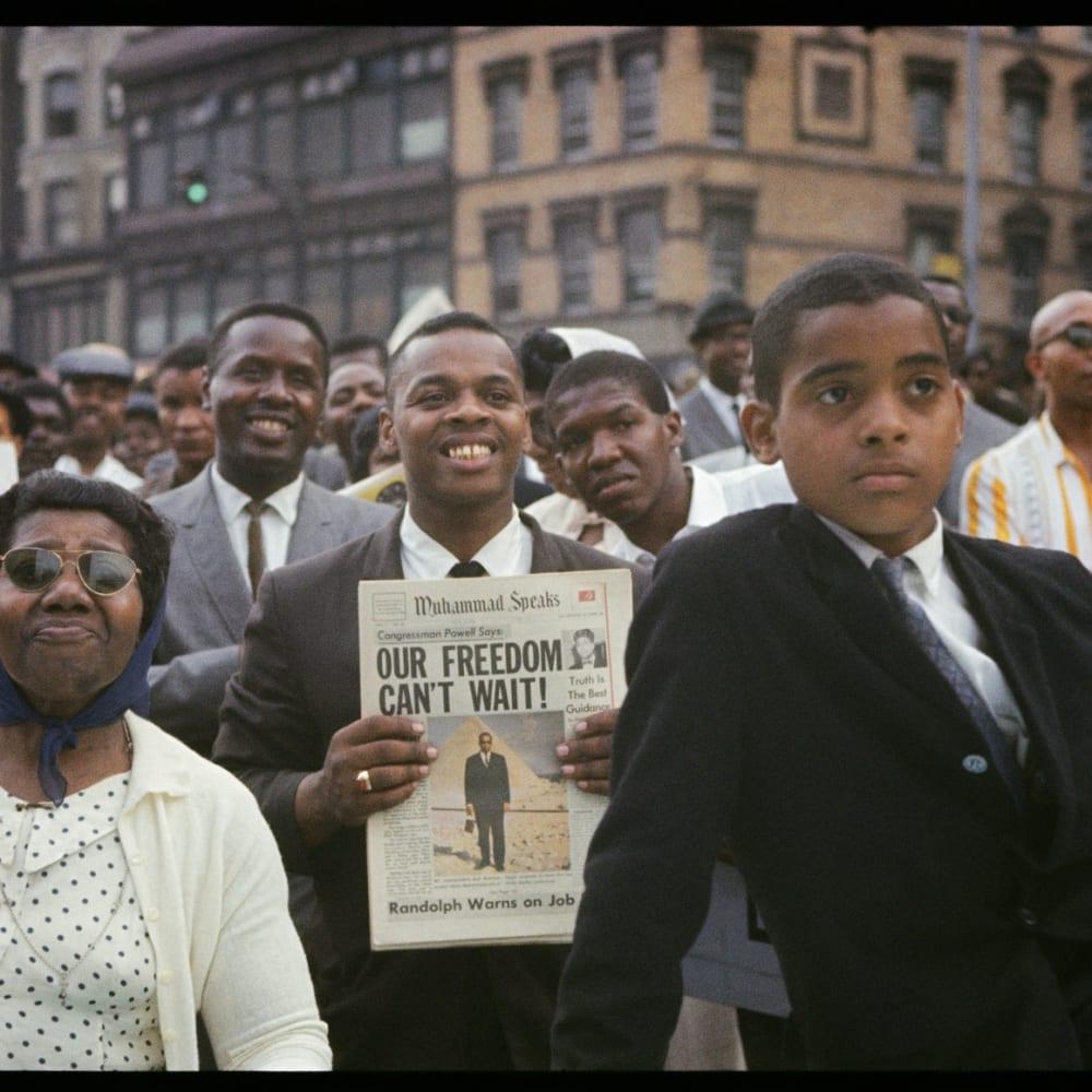 Gordon Parks, Untitled, Harlem, New York, 1963 Courtesy of The Gordon Parks Foundation ©The Gordon Parks Foundation