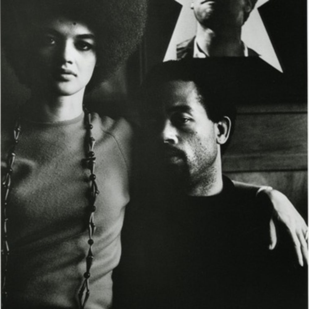 Gordon Parks, Eldridge Cleaver and His Wife, Kathleen, Algiers, Algeria, 1970 ©The Gordon Parks Foundation. Used with permission.