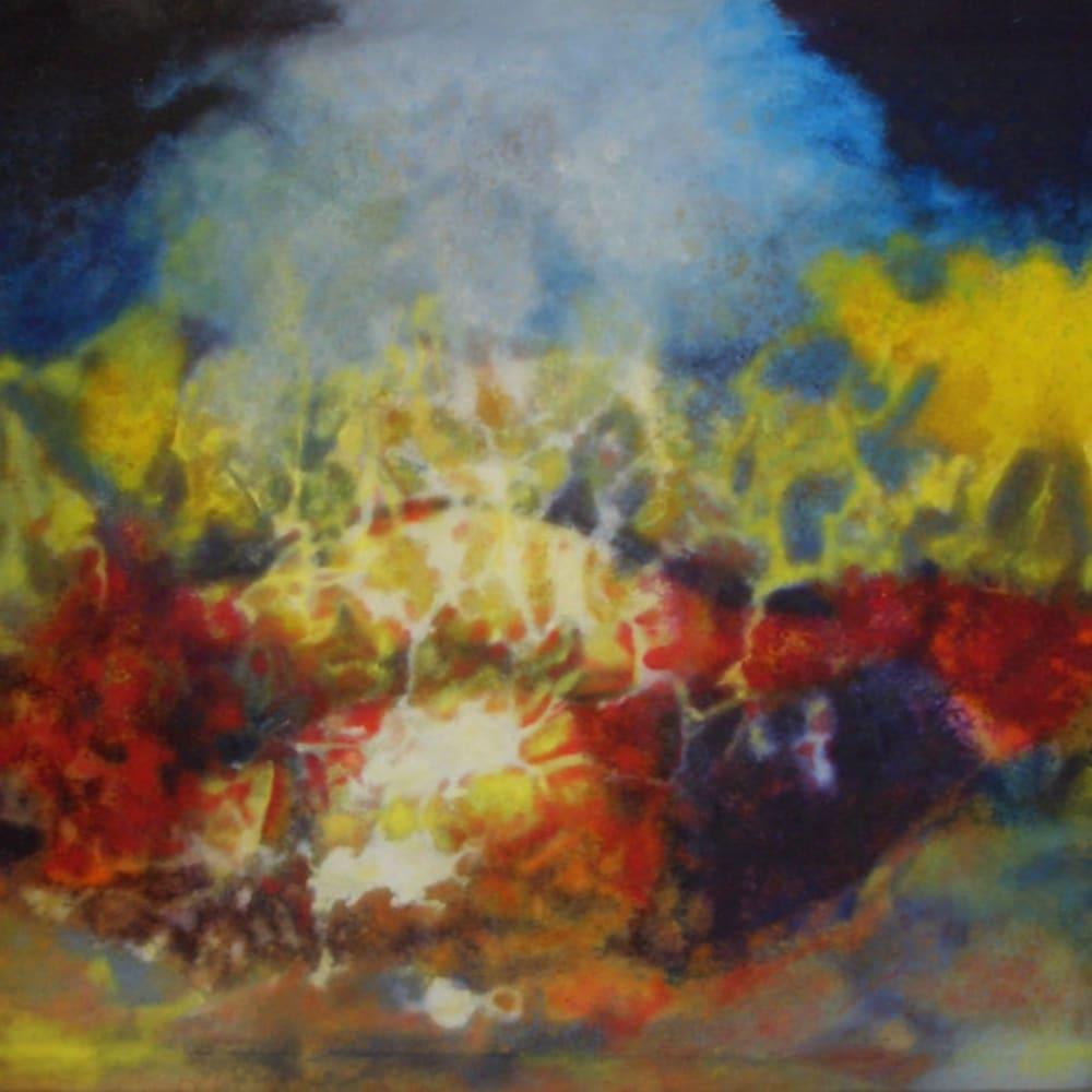 Aubrey Williams, Hymn to the Sun IV (Olmec-Maya & Now Series), 1984