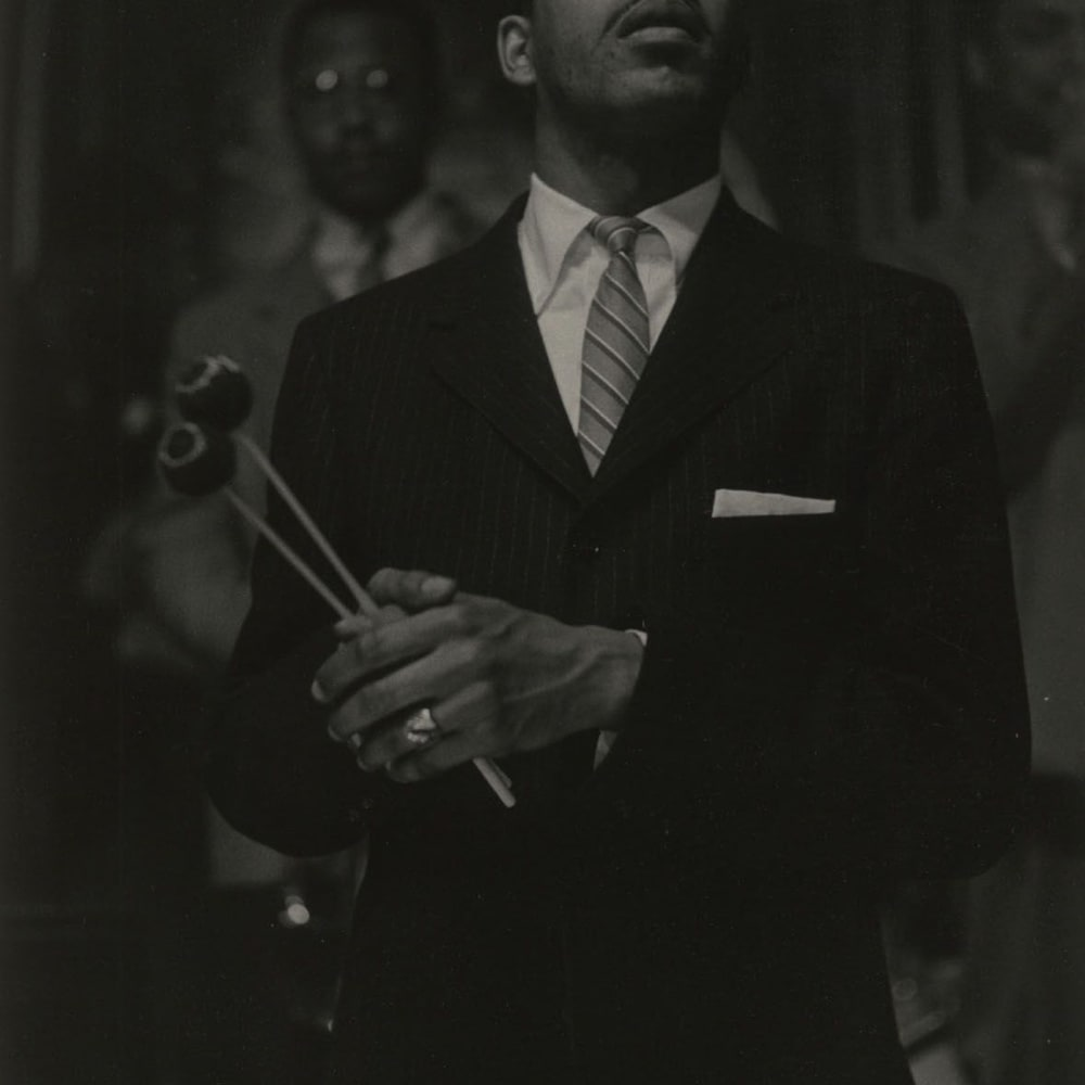 Roy DeCarava, Milt Jackson, 1963 © The Estate of Roy DeCarava. All Rights Reserved.