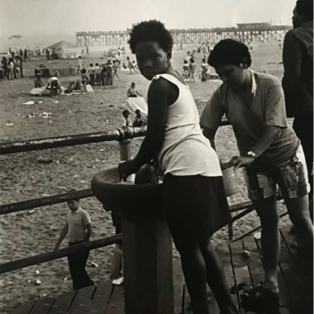 Ming Smith, Time Out Coney Island, Brooklyn, NY, (Coney Island Series), 1972